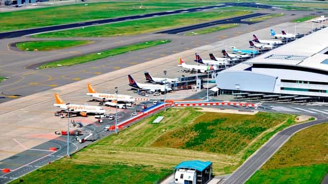 Niciun avion nu aterizează sau decolează de pe aeroportul din Bruxelles