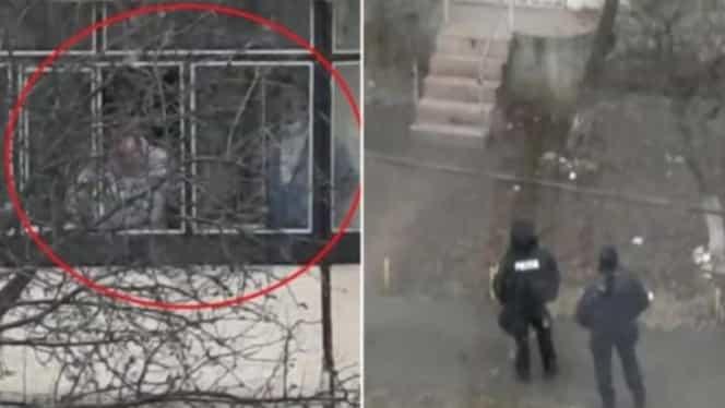 Percheziții în apartamentul vecinilor criminalului din Onești. Poliția îi suspectează de complicitate