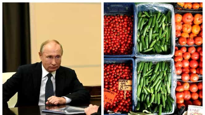 Rusia, embargo la legume și fructele din UE! Cum sunt afectate România și Moldova