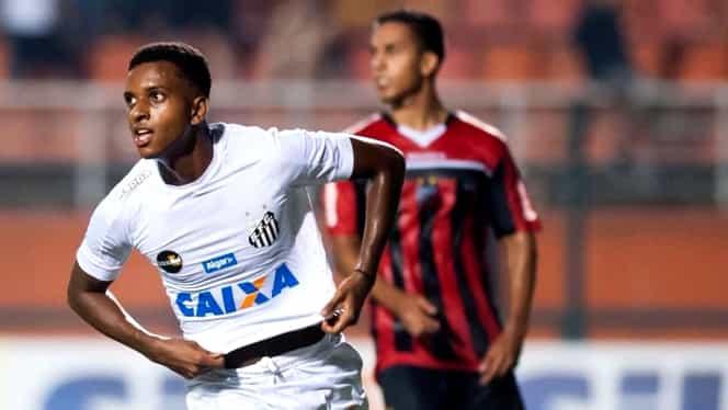 """Video. """"Noul Neymar"""" a chiulit de la şcoală ca să intre în istorie! Super gol pentru Santos"""