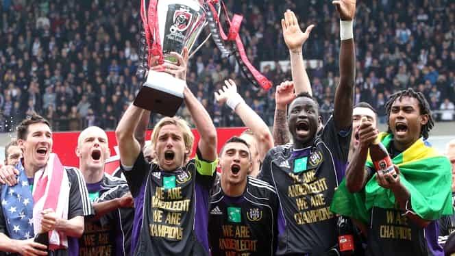 Belgia, la start: Anderlecht e favorita bookmakerilor