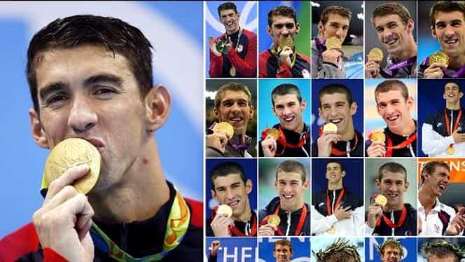 Michael Phelps, la a 21-a medalie de AUR la Olimpiadă. Are la fel de multe cît Cehia în toată istoria ei!