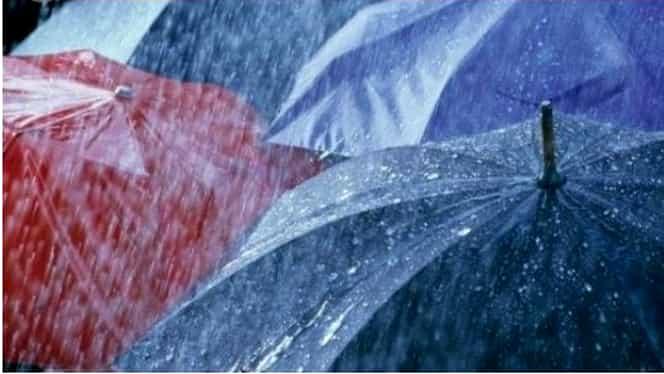 INFORMARE METEO: Ploi şi temperaturi scăzute pînă vineri seară