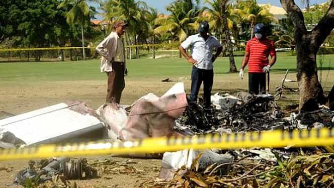 Avion prăbuşit în Republica Dominicană. TOŢI PASAGERII au murit
