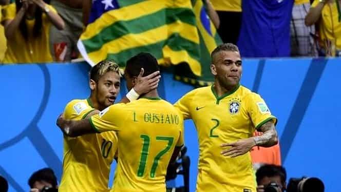 Luiz Gustavo are cele mai bune cifre de la Mondiale!