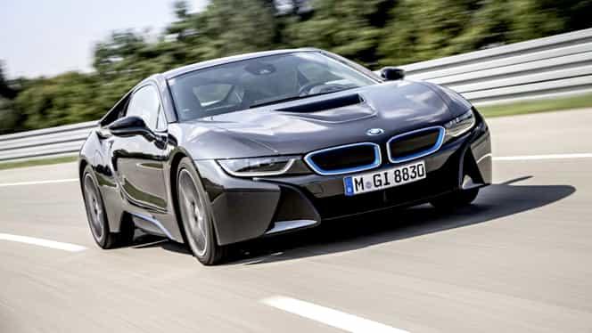 BMW i8 în varianta de serie, prezentat oficial