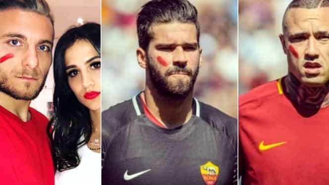 S-a aflat motivul pentru care toţi jucătorii din Serie A au jucat cu o pată roşie pe obraz