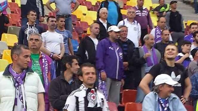 DINAMO-ACS POLI. Fan Partizan Belgrad în galeria bănăţenilor