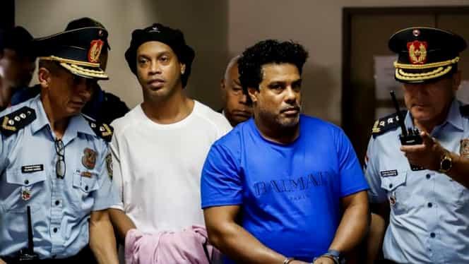 """De la poartă la """"Poarta Albă""""! Fotbaliști care au făcut pușcărie. Ronaldinho, ultimul de pe listă"""