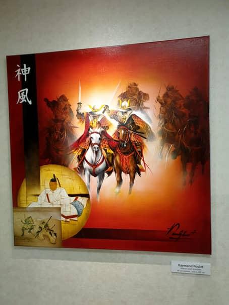 Samuraii, tradiție și mândrie supremă în Japonia și în tablourile lui Raymond Poulet prezente la CM de judo de la Tokyo