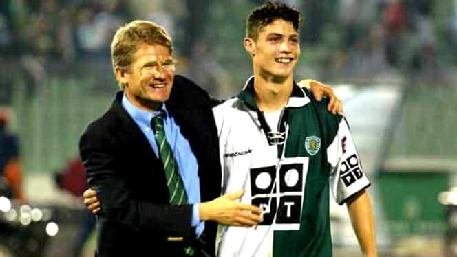 16 ani de la debutul lui Cristiano Ronaldo în fotbalul european! Loţi Boloni, decisiv pentru cariera portughezului! Video