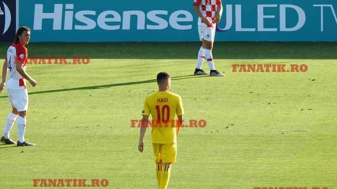 Cum a jucat Ianis Hagi, superstarul naţionalei României, la debutul cu Croaţia. Toate fazele decarului urmărit de echipele de top ale Europei + momentele când a făcut diferenţa!