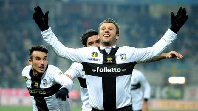 VIDEO / SHOW Cassano! Atacantul Parmei a marcat două goluri FABULOASE cu Chievo