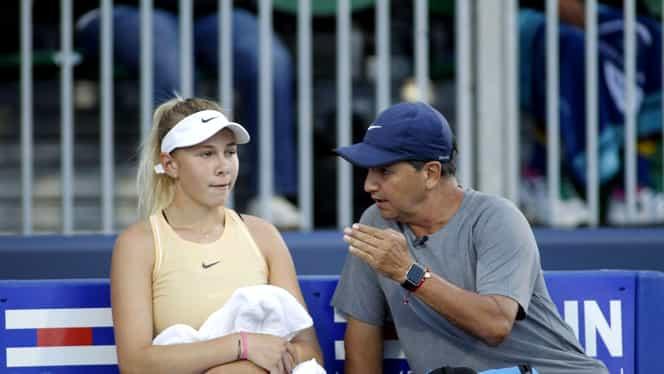 Amanda Anisimova s-a retras de la US Open după ce tatăl ei a fost găsit mort! Ce s-a întâmplat