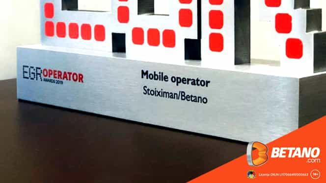 (P) Betano a câștigat premiul pentru cea mai bună platformă de mobil la echivalentul Premiilor Oscar în lumea jocurilor de noroc!