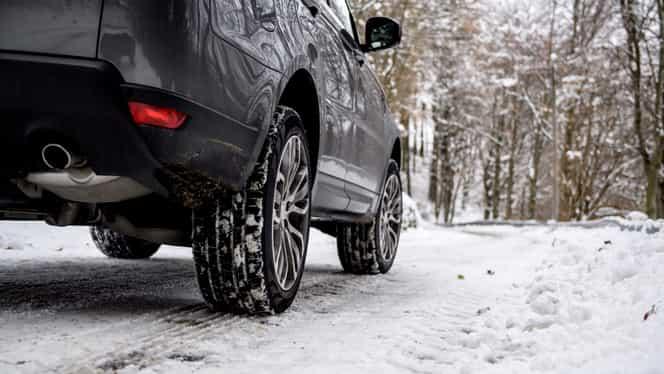 Cauciucuri de iarnă. Amenda prevăzută de Codul Rutier 2020 dacă nu ți-ai schimbat anvelopele