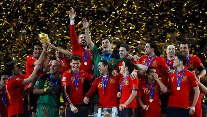 Spania, fără rival la Campionatul Mondial din 2010! Vuvuzelele, amintirea din Africa de Sud! Video