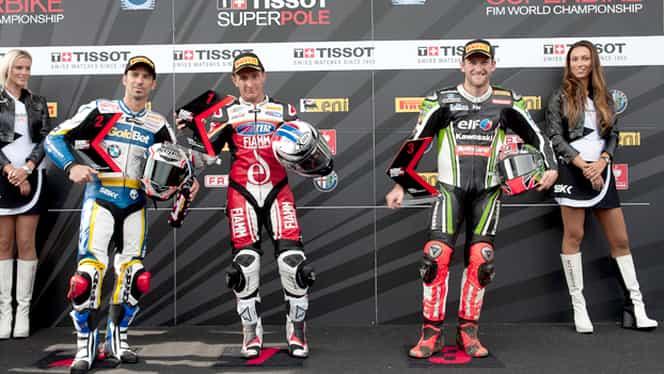 Superbike: Primul pole pentru Badovini