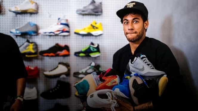 Pasiunea necunoscută a lui Neymar: adidașii. Cum a ajuns de la a avea o singură pereche, la colaborarea cu Jordan