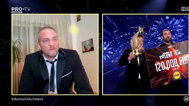 Finala Românii au talent. Radu Palaniţă a câştigat marele premiu de 120.000 de euro