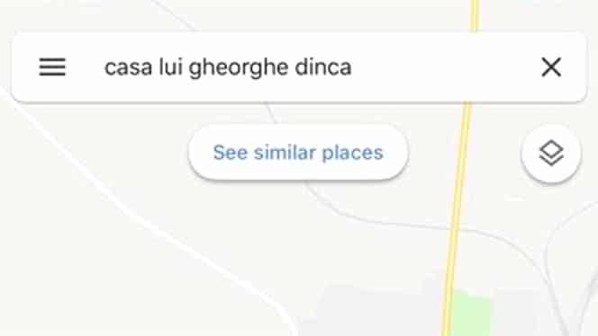 Casa lui Gheorghe Dincă, pe Google Maps. FOTO