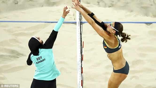 Imaginile de la Rio care au făcut înconjurul lumii! Ce echipament au purtat egiptencele