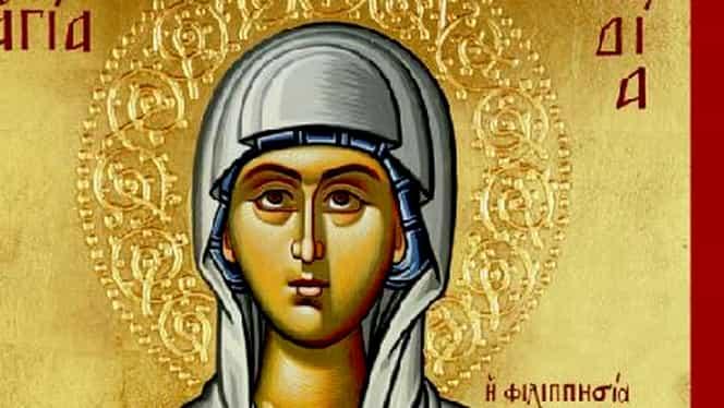 Calendar ortodox, luni, 20 mai 2019. Sfânta Lidia și Sfântul Mucenic Talaleu