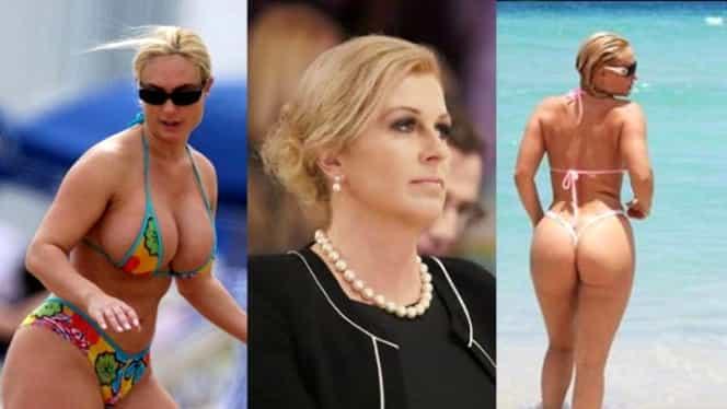 Gafă colosală! Cu cine a fost confundată Preşedinta Croaţiei