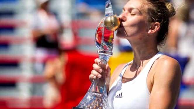 Simona Halep, desemnată cea mai bună din LUME în luna iulie!