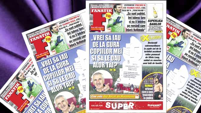 A apărut revista Fanatik! Reportaj cutremurător la locul în care Silviu Lung a provocat un teribil accident soldat cu moartea unui tată de familie. Ce fac acum copiii și soția acestuia