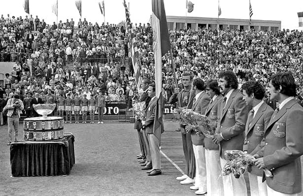 """România, la un pas să câştige Cupa Davis în 1972! """"Salatiera"""" a fost în Bucureşti doar în vizită"""