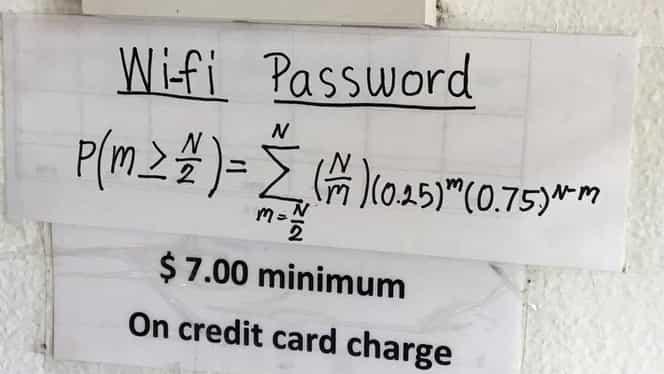 Restaurantul la care nimeni nu poate să descifreze parola Wi-Fi! Mii de oameni încearcă să găsească răspunsul