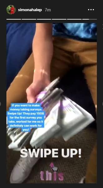 Contul de instagram al Simonei Halep, SPART DE HACKERI! Au cerut bani! Ce imagini au postat în numele campioanei