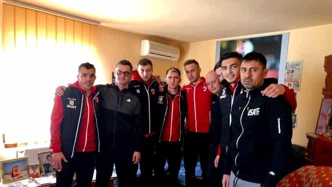 """Dinamo l-a comemorat pe Cătălin Hîldan! Jucătorii și suporterii au fost la mormântul """"Unicului Căpitan"""""""
