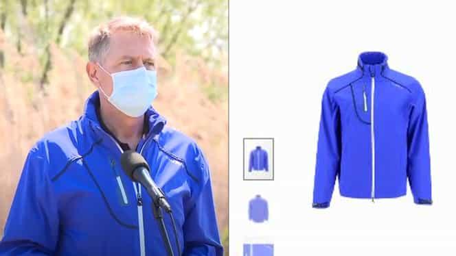 Cât costă jacheta pe care a purtat-o Klaus Iohannis în Delta Văcărești! E peste pensia medie din România