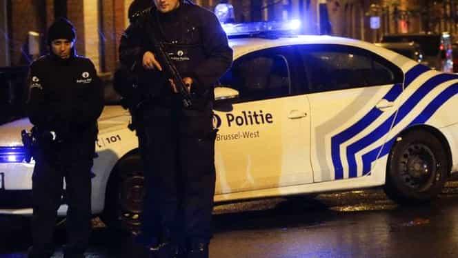 Raiduri antiteroriste în Belgia. Doi suspecţi de terorism au fost reţinuţi