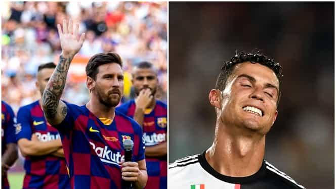 Top 20 cei mai bine cotaţi fotbalişti din lume! Prezenţa surpriză de pe locul 5 şi poziţia uluitoare ocupată de Cristiano Ronaldo