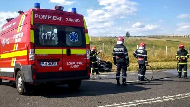Pericol de explozie! Accident grav în Constanţa. Mai multe persoane au fost rănite