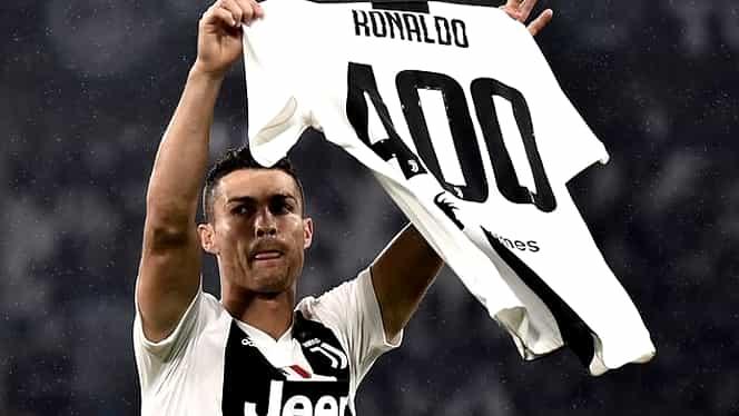 Cristiano Ronaldo, premiat pentru cele 400 de goluri marcate în campionatele din Europa