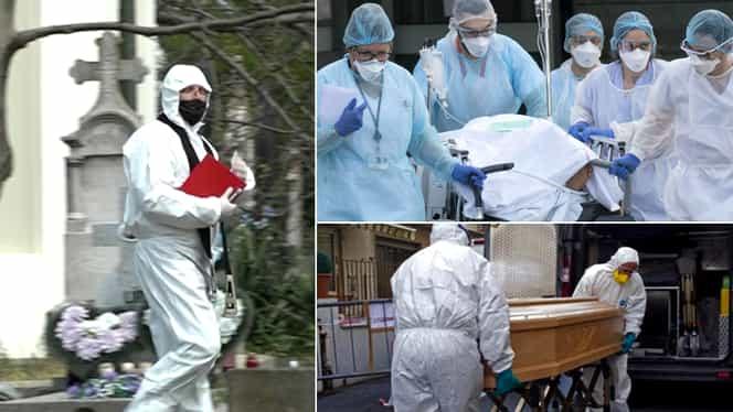 România, printre primele ţări din lume la numărul de morţi în pandemie. Statistică alarmantă!