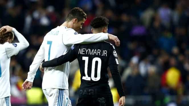 Ronaldo blochează transferul lui Neymar la Real Madrid! Care sunt motivele