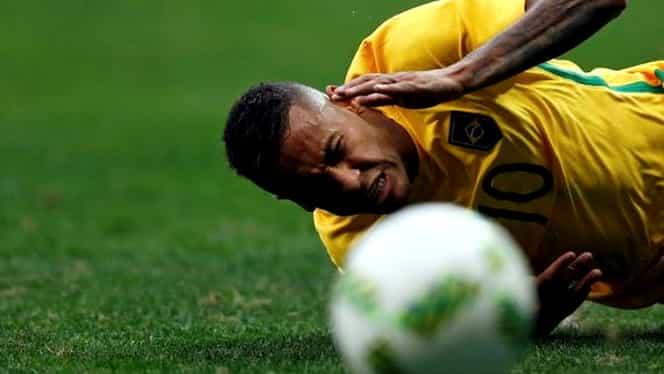 VIDEO. Brazilia şi Neymar au dezamăgit în meciul de debut la Olimpiadă. Scorul zilei: 8-0!