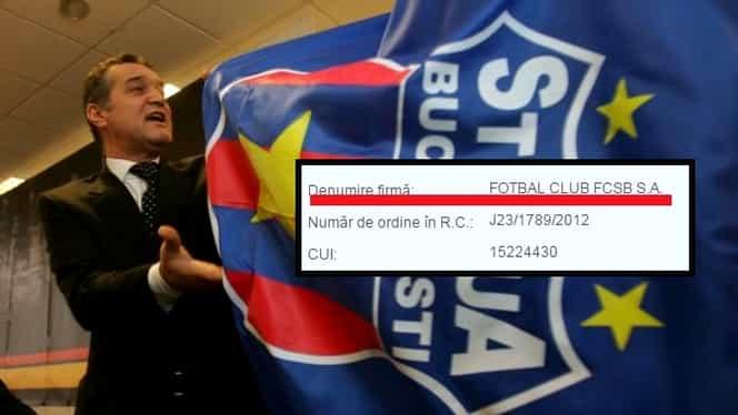 EXCLUSIV. Adio, Steaua! De azi, se numeşte FOTBAL CLUB FCSB SA