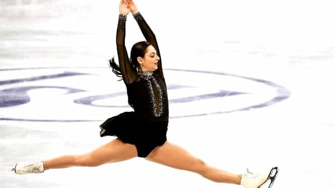 Julia Sauter, ce performanţă pentru patinajul românesc! Cel mai bun rezultat din istoria participărilor României la Campionatul European! Foto