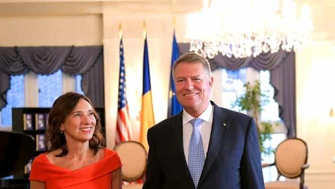 Carmen Iohannis, apariție răvășitoare la New York! Soția președintelui a purtat o rochie semnată Andreea Tincu. Galerie FOTO