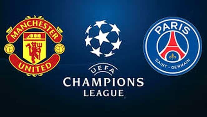 Sport la TV. Cine transmite Manchester United – PSG, AS Roma – FC Porto, optimile din Champions League. Programul transmisiunilor sportive de marți, 12 februarie