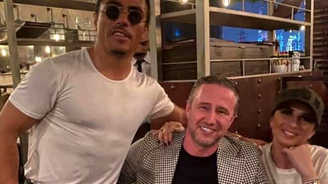 Întâlnire surpriză în Dubai la restaurantul celebrului Salt Bae! Cum l-a luat la mişto Prodanca pe Ianis, fiul lui Gică Hagi. Toată masa a izbucnit în râs. EXCLUSIV