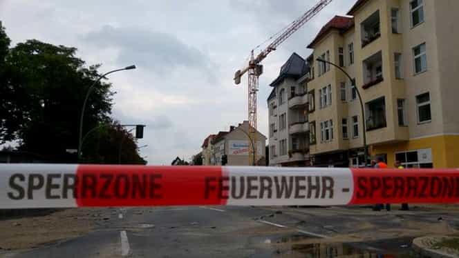 Incendiu la Berlin într-o tabără de refugiaţi! Cel puţin şase persoane au fost rănite