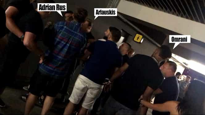 Omrani, Rus şi Arlauskis, bătaie la Untold pentru o femeie! Video. Au fost evacuaţi de securitate. Video