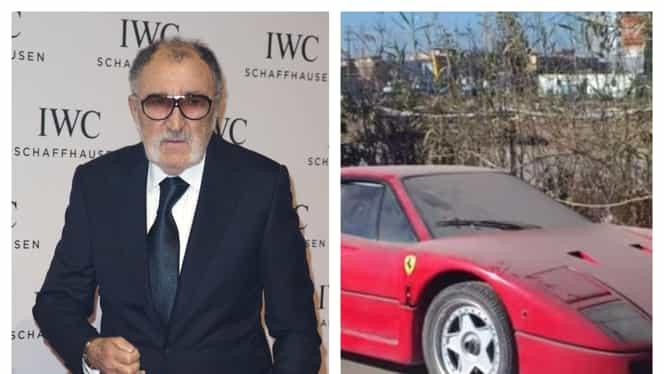 Miliardarul Ion Țiriac și-a uitat două Ferrari într-un garaj, timp de 10 ani. Ce valoare au bolizii